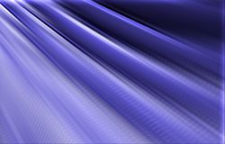 Blue background. Stripes diverge from the upper corner downwards. Royalty Free Stock Photos
