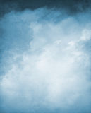 Blue Textured Cloudscape Royalty Free Stock Images