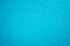 Blue textured concrete wall Royalty Free Stock Photo