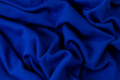 Blue textured fabric. Stock photo Royalty Free Stock Photos