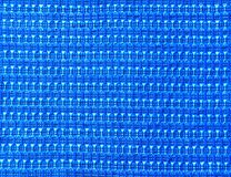 Blue textured material Stock Photo