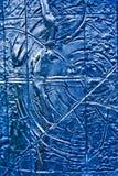 Blue Textured Steel Background Stock Photos