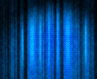 Blue theater curtain Stock Photography