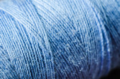 Blue thread Royalty Free Stock Image
