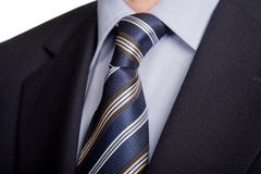 Blue tie Royalty Free Stock Photos