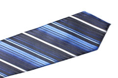Blue tie close up Royalty Free Stock Photo