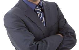 Blue tie Stock Image