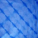 Blue Tie-dyed fabric Stock Photo