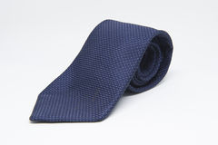 Blue tie royalty free stock image