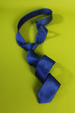 Blue tie for men Royalty Free Stock Images