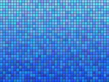 Blue tile. Background pattern.Computer generated texture Stock Photos