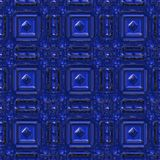 Blue tile Stock Image