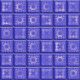 Blue tile Royalty Free Stock Photography