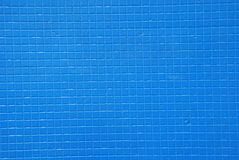 Blue tile background. A blue tile background pattern Stock Images