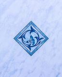 Blue tile Stock Photos