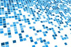 Blue Tile Pattern Stock Images