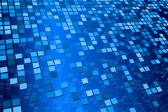 Blue Tile Pattern Royalty Free Stock Images