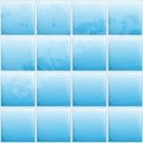 Blue tile pattern Stock Photos