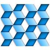 Blue tile seamless background Stock Photo