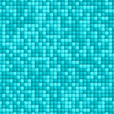 Blue tile seamless pattern Stock Photography