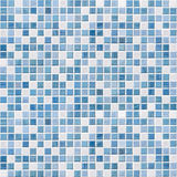 Blue tile wall high resolution stock images