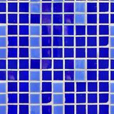 Blue Tile Wall Texture. Royalty Free Stock Photo