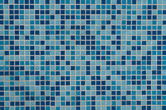 Blue tiled background Stock Image