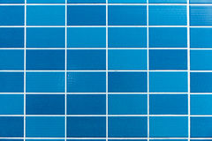 Blue tiled background Stock Photos