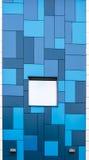 Blue Tiled Modernist Building Royalty Free Stock Image