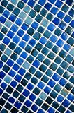 Blue Tiles. Blue ceramic tile wall pattern Royalty Free Stock Image