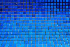 Blue tiles Stock Images