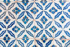 Blue Tiles Royalty Free Stock Photo
