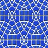 Blue tiles vector illustration