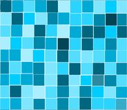 Blue tiles background Stock Photos