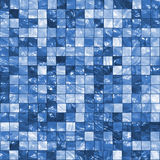 Blue Tiles Background Stock Photography