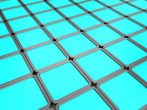 Blue tiles background Royalty Free Stock Images