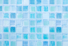 Blue Tiles in Bathroom Royalty Free Stock Photo