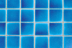 Blue tiles Stock Photography