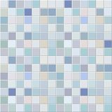 Blue tiles mosaic pattern Stock Image