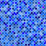 Blue tiles pattern background. Royalty Free Stock Image