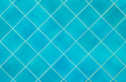 Blue tiles texture background Royalty Free Stock Images