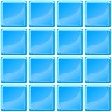Blue tiles texture seamless illustration Royalty Free Stock Photos