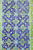 Blue Tiles in Topkapi Palace Royalty Free Stock Image