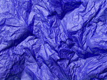 Blue tissue paper texture Royalty Free Stock Photos