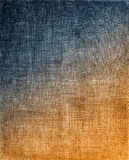 Blue to Orange Cloth Background Royalty Free Stock Photos