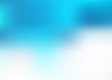 Abstract Modern Medical business Blue Background. Abstract rectangular healthcare background with upper half in shades of blue with overlaid pixelation  fading Stock Photography