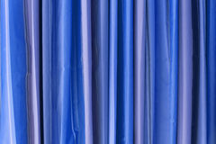 Blue Tone Curtain Royalty Free Stock Images
