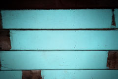 Blue tone decorative rough wooden wall texture background. Stock Photo