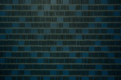 Blue tone fabric textile Royalty Free Stock Photos