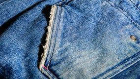 Blue tone jean Stock Image